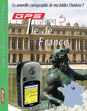 Garmin Topo 5 IGN Parijs en omgeving