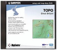 Garmin Topo Groot-Brittannia MapSource