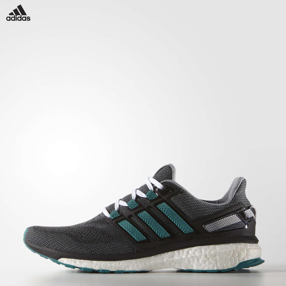 official photos 2c3a7 88678 adidas Energy Boost 3 Hardloopschoenen GrijsGroenZwart Heren
