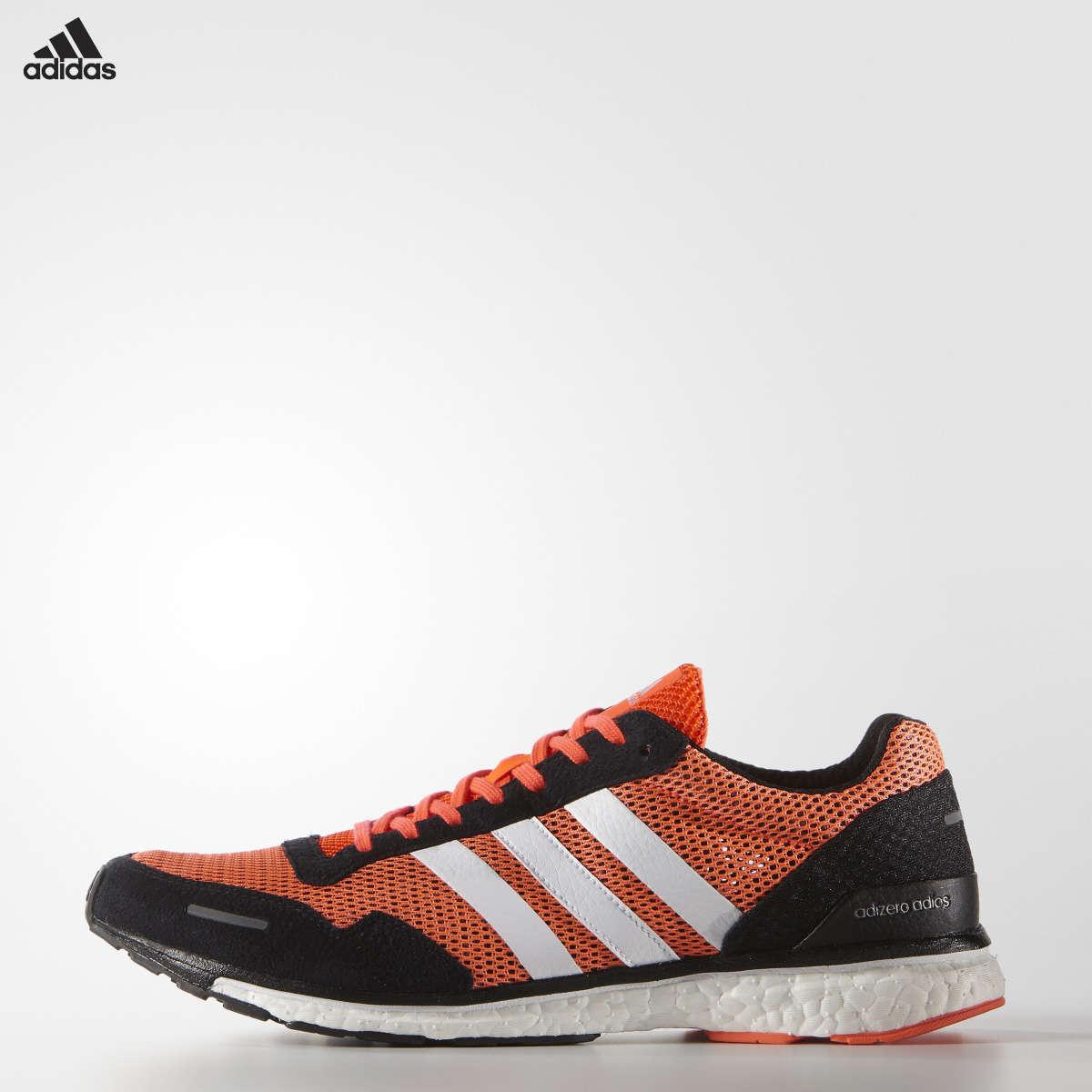 5a8d0e193a1 adidas Adizero Adios 3 Hardloopschoenen Rood/Zwart/Wit Heren koop je ...