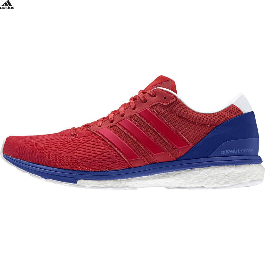 new product 9d63b 4d7e1 adidas Adizero Boston 6 Hardloopschoenen RoodBlauw Heren
