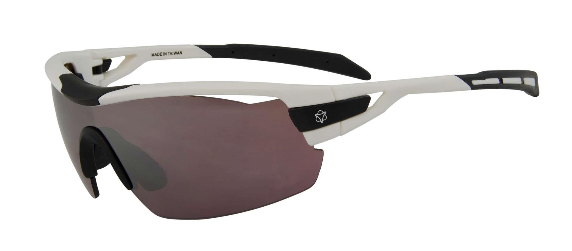 604557878ef0ee AGU Foss Shield HD Fietsbril Wit koop je bij Futurumshop.nl