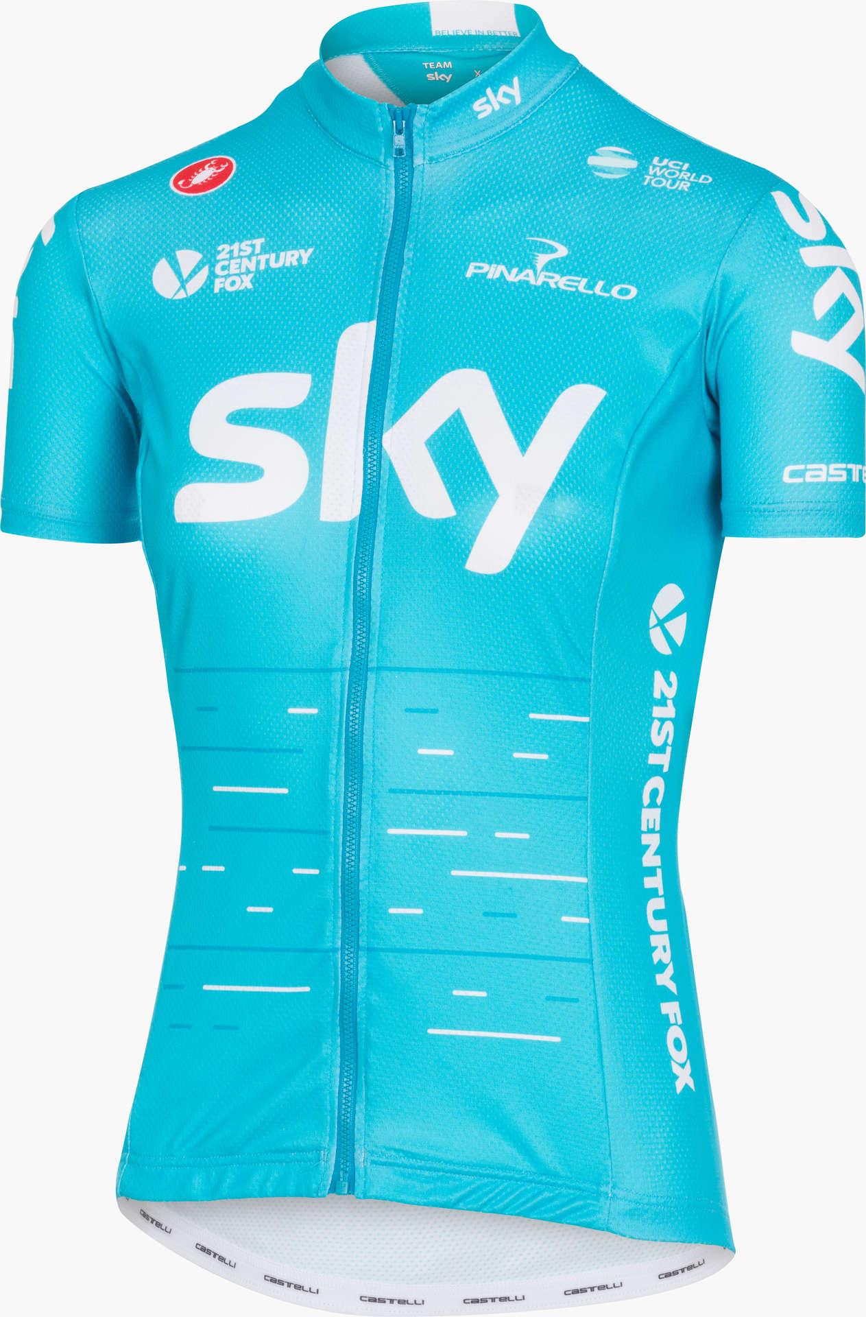 Castelli team fan fietsshirt korte mouwen blauw dames koop jpg 1263x1920 Sky  fan e98254fb7
