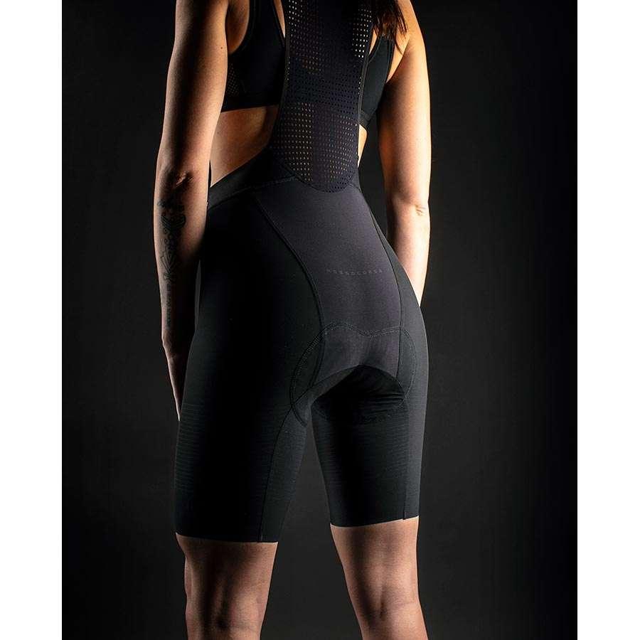 Castelli Premio Black Fietsbroek Kort Zwart Dames