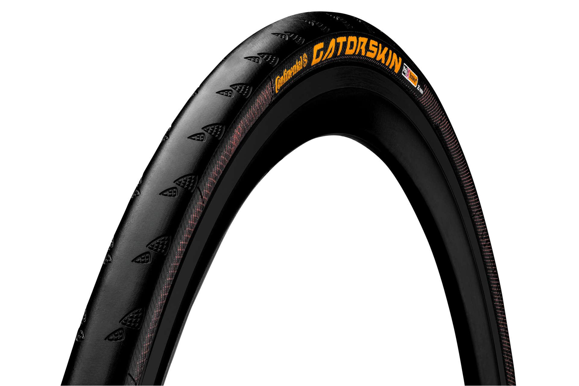 Continental GatorSkin Race Vouwband Zwart