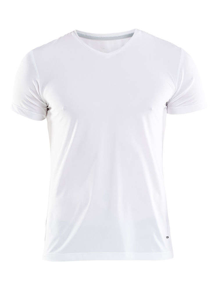 102fb0ffeef Essential VN Shirt Korte Mouwen Wit Heren