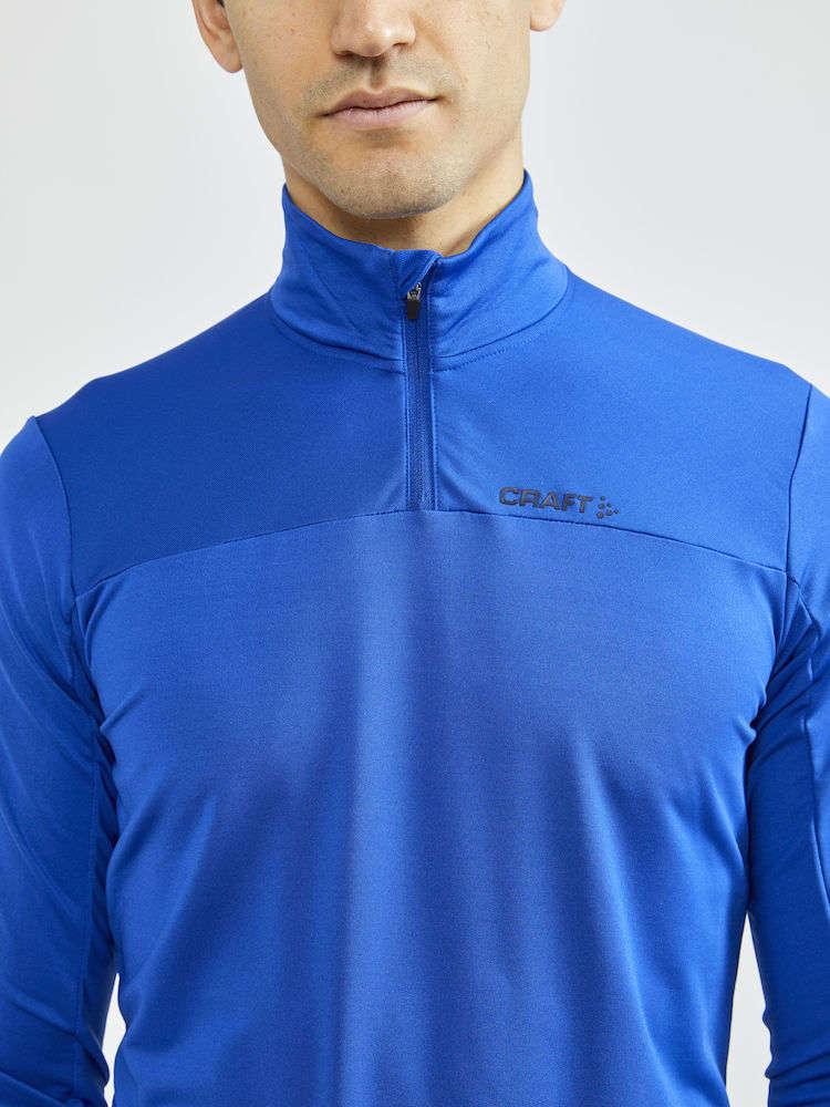 Craft CORE Gain Hardloopshirt Lange Mouwen Blauw/Blauw Heren