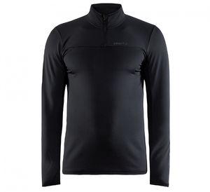 Craft CORE Gain Hardloopshirt Lange Mouwen Zwart Heren