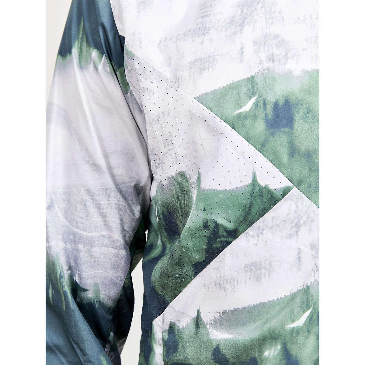 Craft ADV Essence Windjack Groen/Lichtgroen Heren