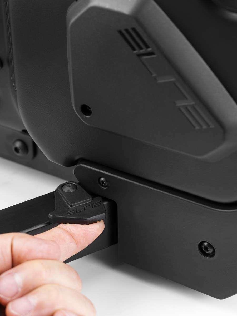 Elite Suito Fietstrainer Incl. Voorwielsteun en 11-speed Cassette