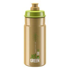 Elite Jet Green Logo Bidon Bruin/Groen 550ml