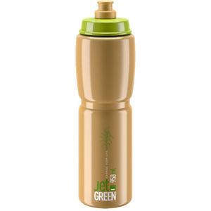 Elite Jet Green Logo Bidon Bruin/Groen 950ml