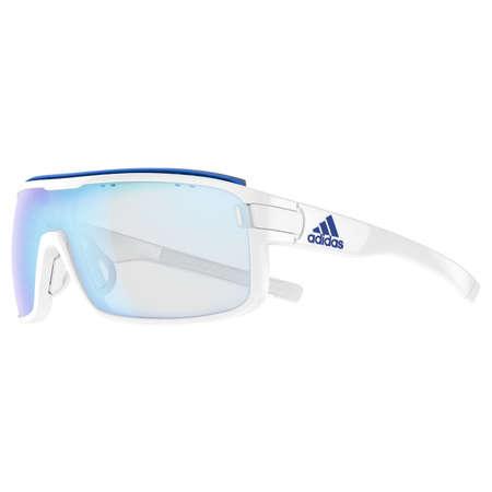 Adidas Zonyk Pro L Zonnebril Shiny Witvario Blue Mirror Koop Je Bij