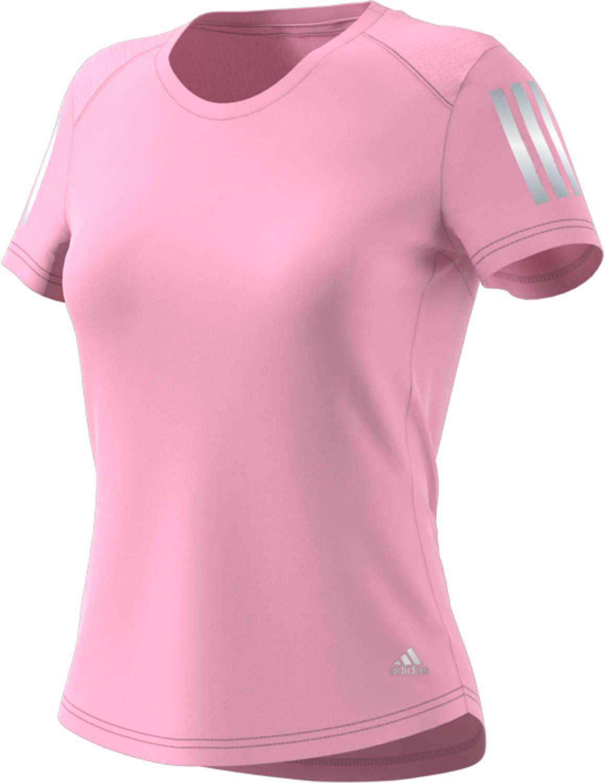 b8ce3177f33 adidas Own The Run Hardloopshirt Korte Mouwen Roze Dames koop je bij ...