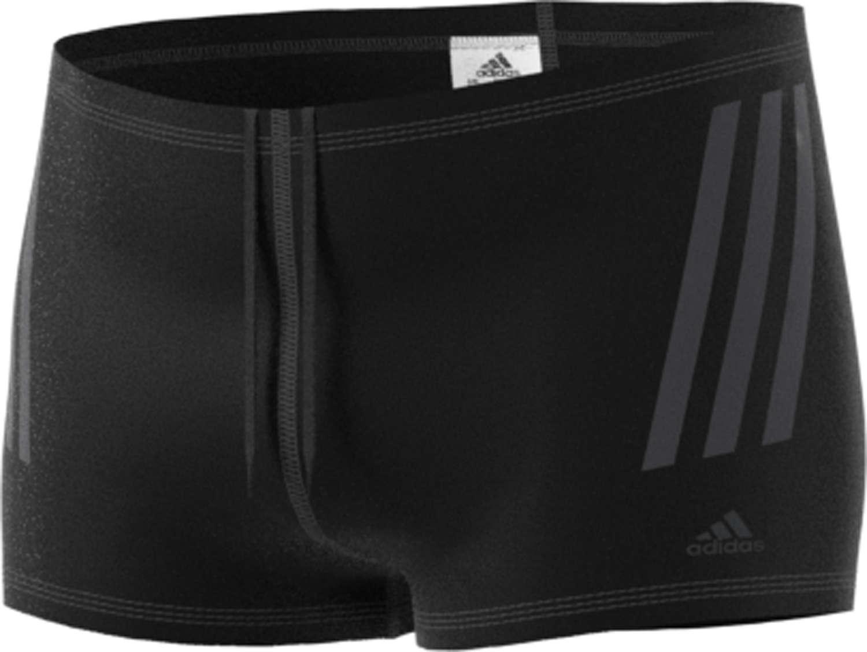 Boxershort Zwembroek.Adidas Pro 3 Stripes Zwembroek Boxer Zwart Grijs Heren Koop Je Bij