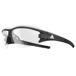 d228be2442293c adidas Evil Eye Halfrim Pro L Zonnebril Zwart Reflective Vario Clear Grey