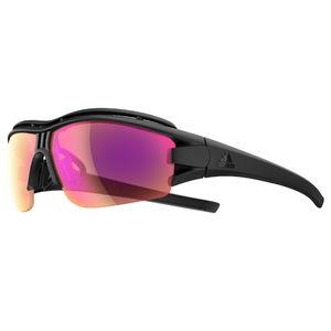 9fe13996c6b6d3 adidas Evil Eye Halfrim Pro S Zonnebril Mat Zwart LST Bright Vario Paars