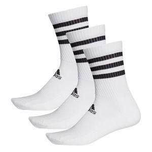 adidas 3 Stripes Sportsokken 3-Pack Wit Heren