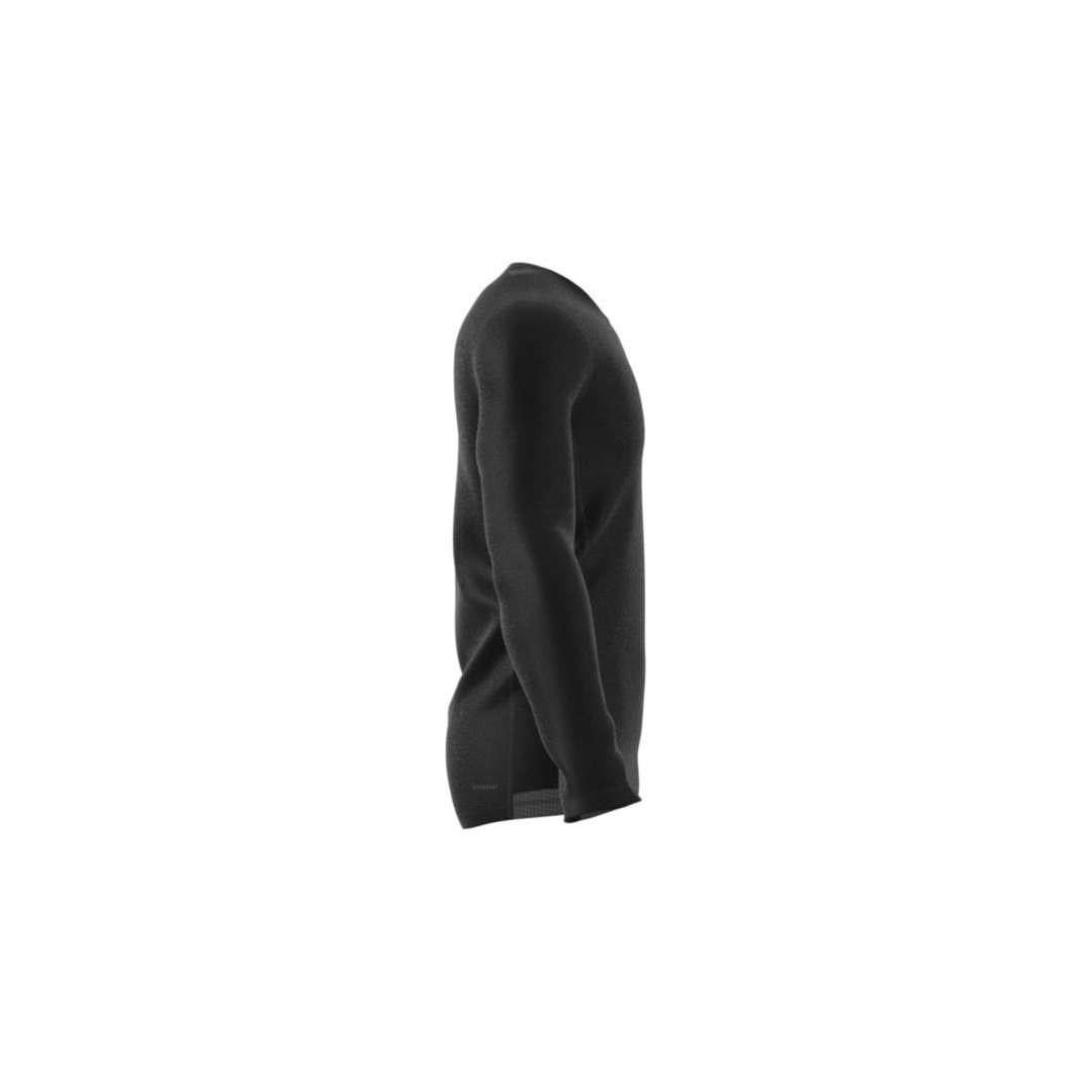 adidas TF Hardloopshirt Lange Mouwen Zwart Heren