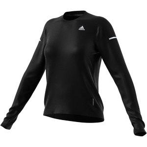 adidas Cooler Supernova Aeroready Hardloopshirt Lange Mouwen Zwart Dames