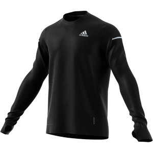 adidas Cooler Supernova Aeroready Hardloopshirt Lange Mouwen Zwart Heren