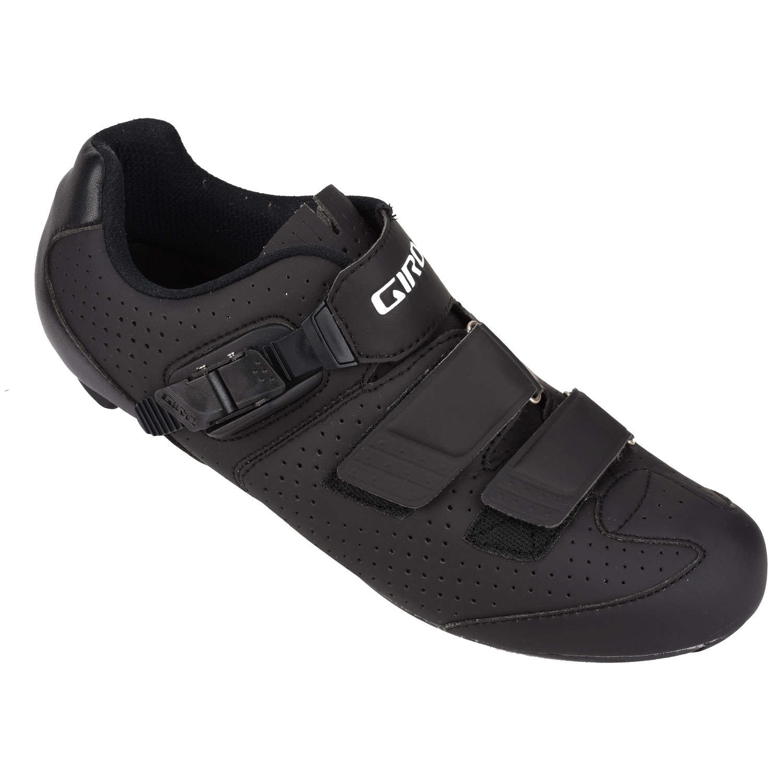 Giro Chaussures Noires Avec Velcro Pour Les Hommes 6mhYCUO