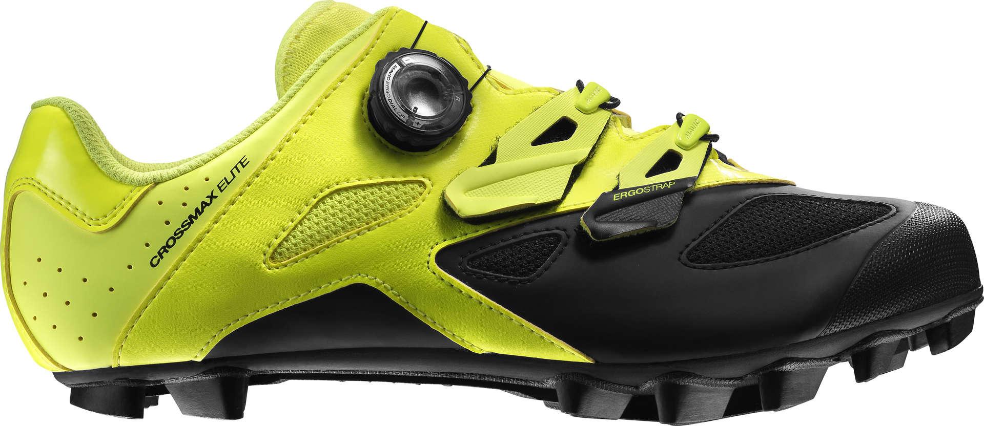 Chaussures Jaunes Mavic Crossmax Avec Des Hommes De Fermeture Velcro 36tmAKn