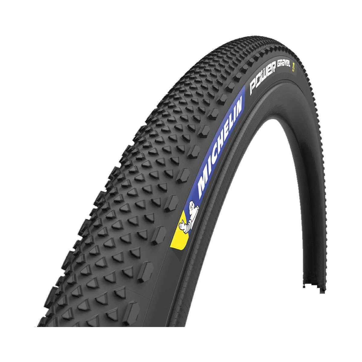 Michelin Power TLR Gravel Vouwband Zwart