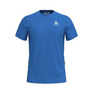 bbc275c5a10 Odlo Ceramicool Element BL Hardloopshirt Korte Mouwen Blauw Heren