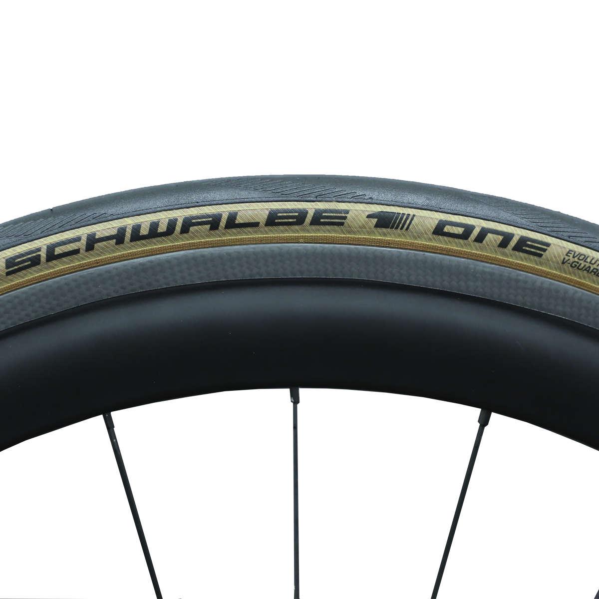 Schwalbe One Limited Edition Race Vouwband 700 X 25c Zwart Beige Pro 25 C