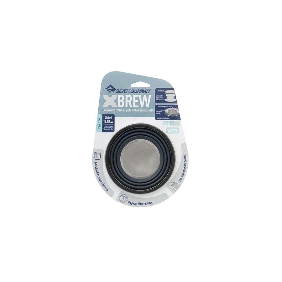 Sea To Summit X-Brew Coffee Dripper Zwart