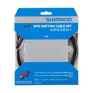 Shimano RD Polymeer MTB Derailleurkabelset Zwart