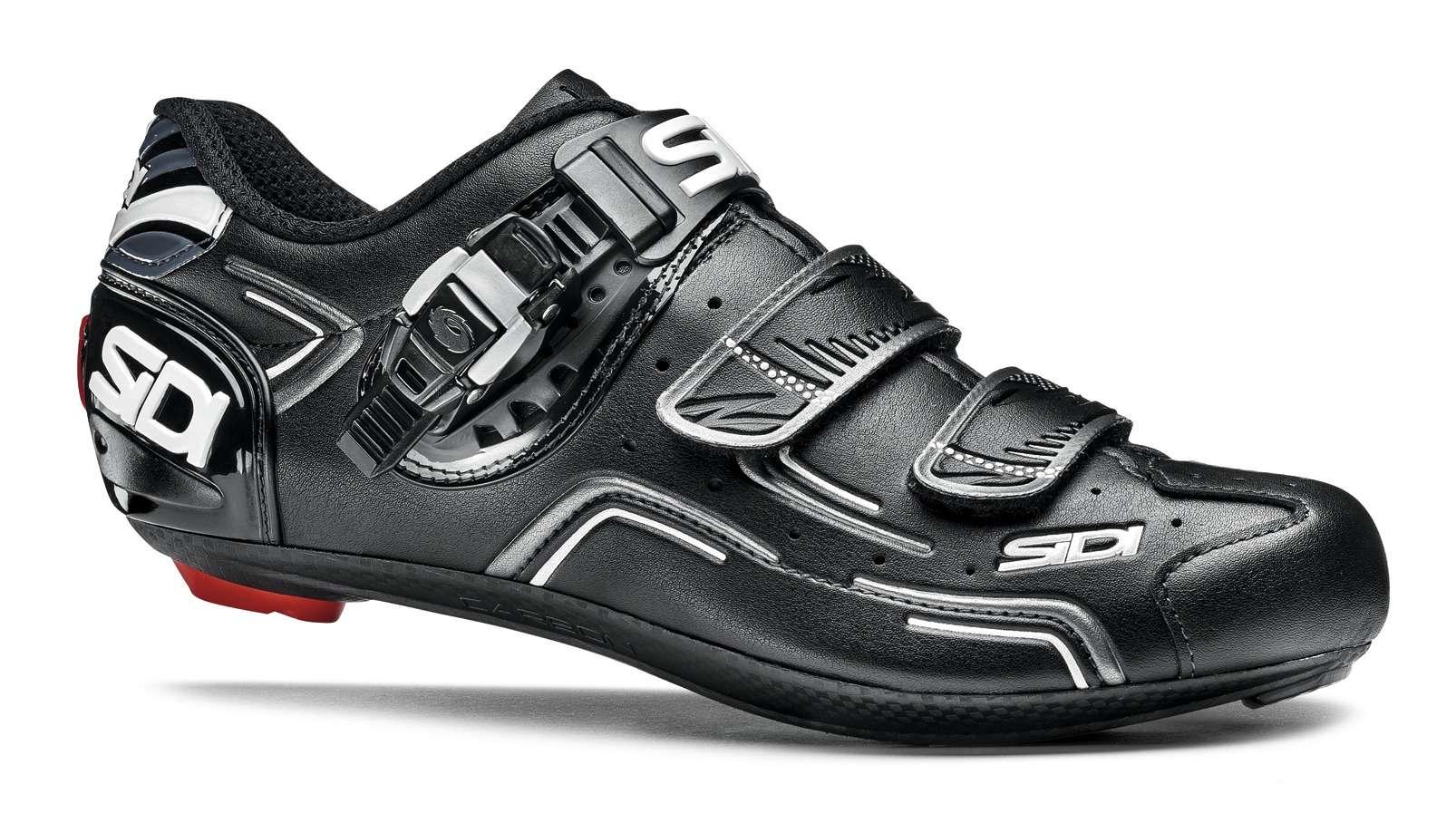 Chaussures De Niveau Sidi Hommes Chaussures Noires Puis 40 2017 Vélo De Route MawpvF