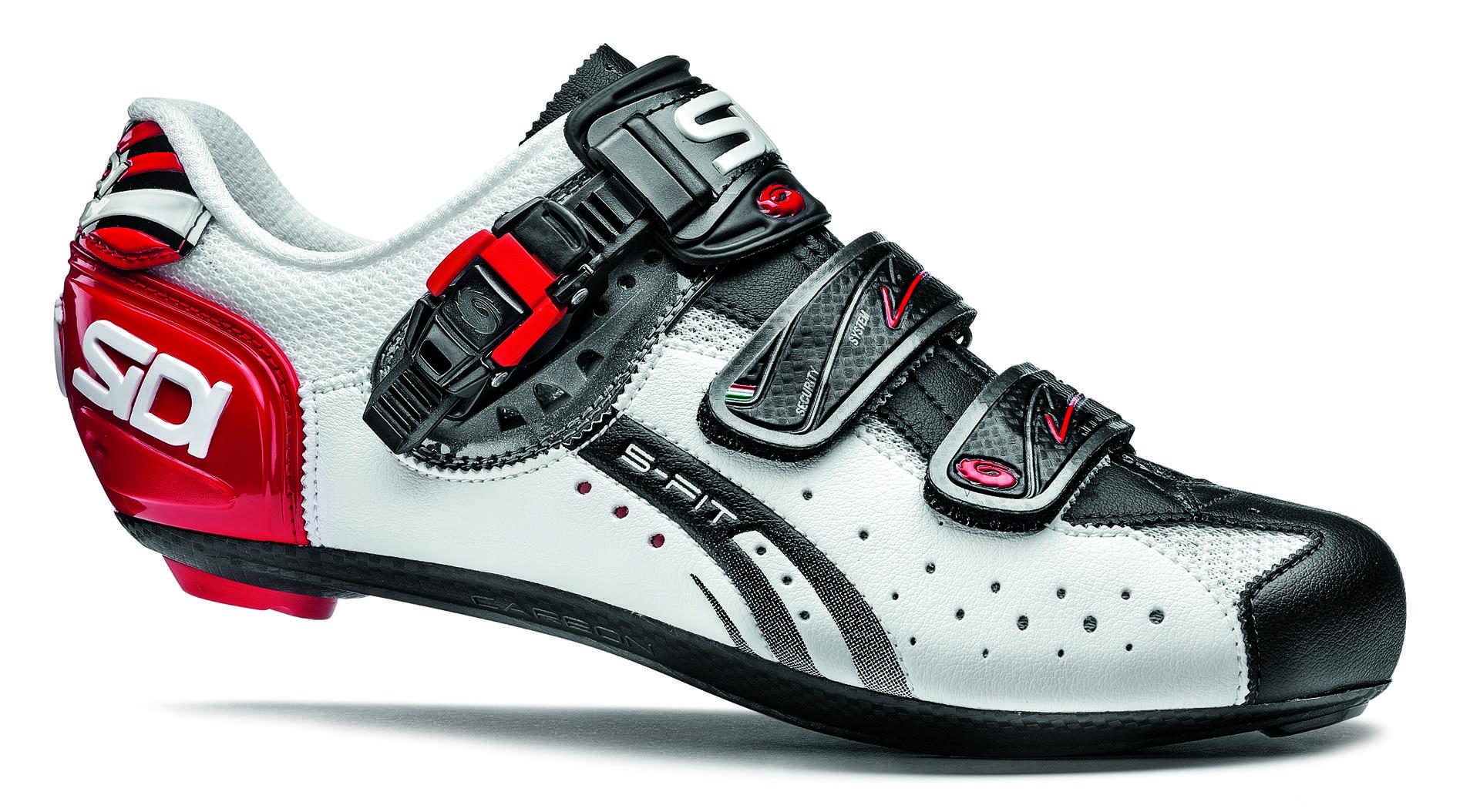 Sidi Chaussures Rouges Avec Velcro Pour Les Hommes C6Hno
