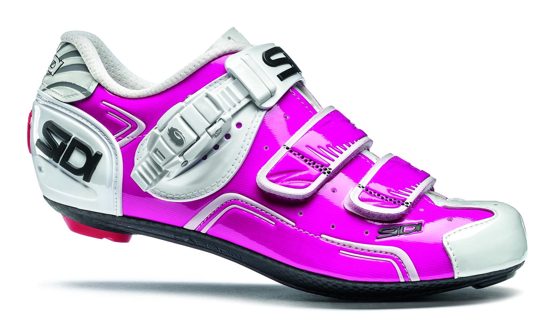 Rose Chaussures Sidi Avec Fermeture Velcro Pour Les Femmes G7vibZw