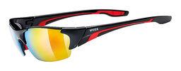 Uvex Blaze III Sport Zonnebril Zwart/Rood/Mirror Rood