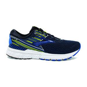 dfe6a45d904 Brooks Adrenaline GTS 19 Hardloopschoenen Donkerblauw Blauw Geel Heren