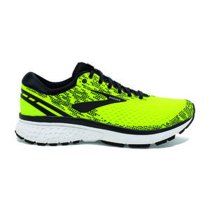 wholesale dealer 00838 d7b34 Brooks Ghost 11 Hardloopschoenen GeelZwartWit Heren