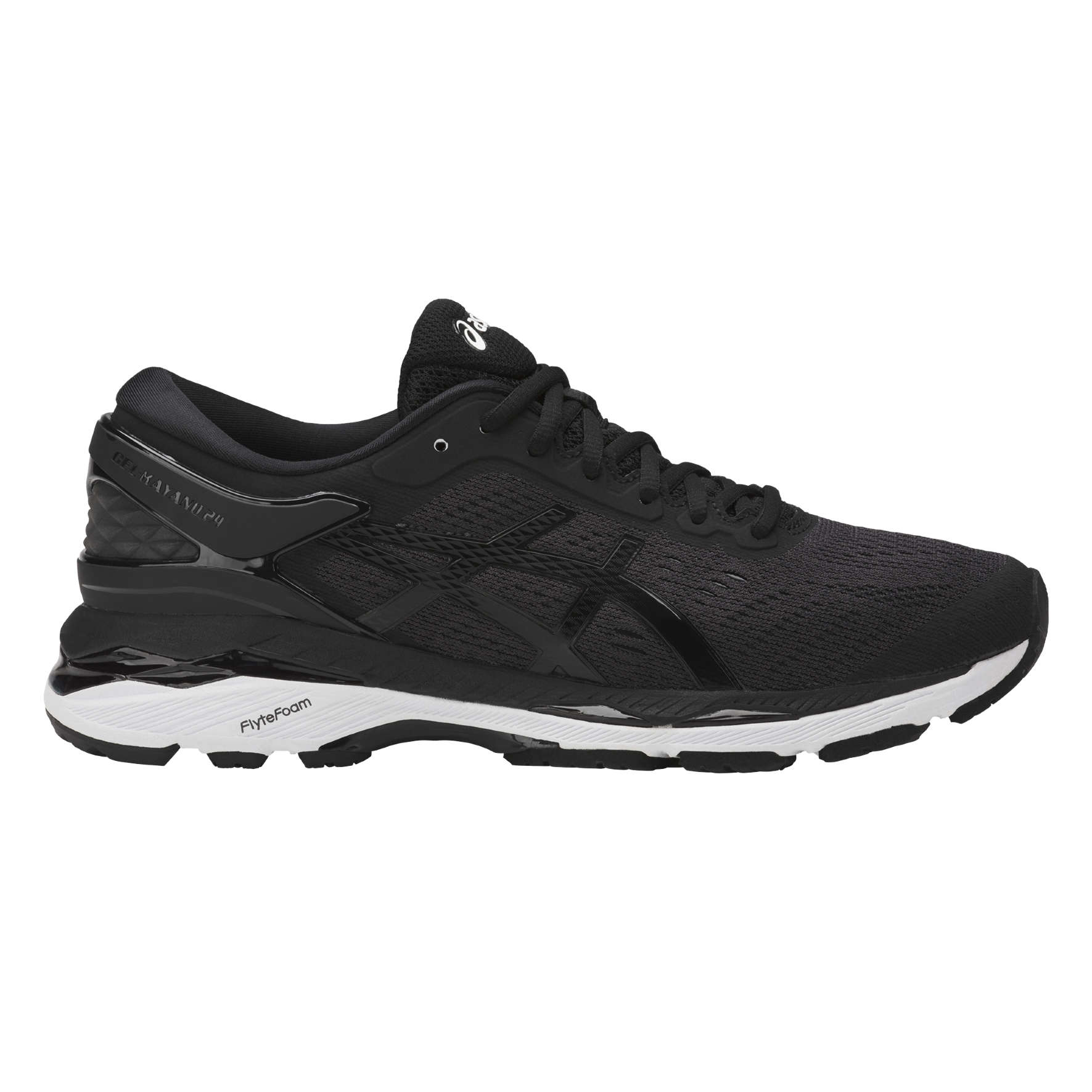 asics kayano dames wit