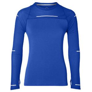 Lite Show Hardloopshirt Lange Mouwen Blauw Dames