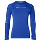 ASICS Lite-Show Hardloopshirt Lange Mouwen Blauw Dames