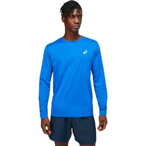 ASICS Core Hardloopshirt Lange Mouwen Blauw Heren