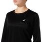 ASICS Core Hardloopshirt Lange Mouwen Zwart Dames