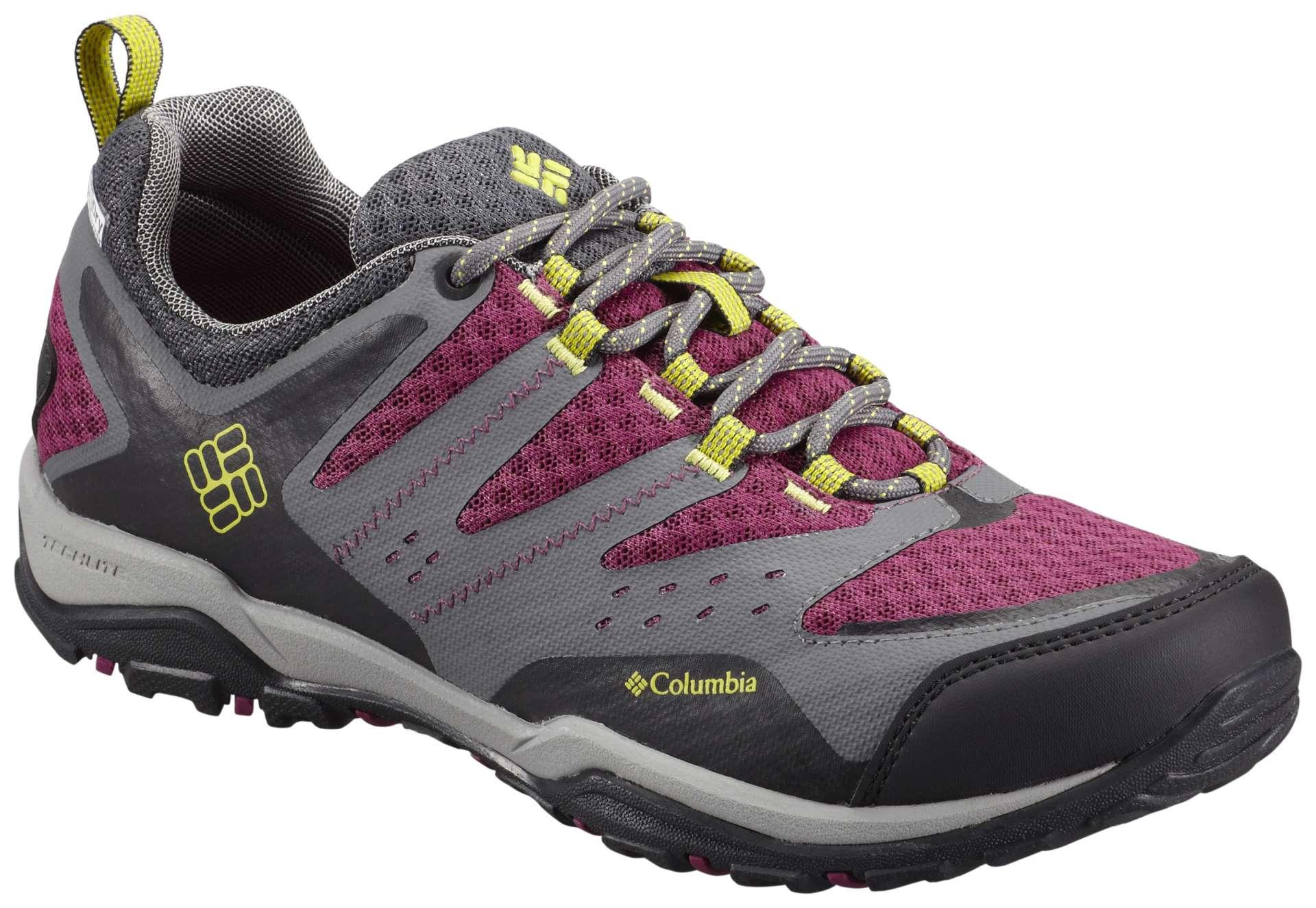 Lichte Wandelschoenen Dames : Columbia peakfreak xcrsn xcel wandelschoenen grijs roze geel dames