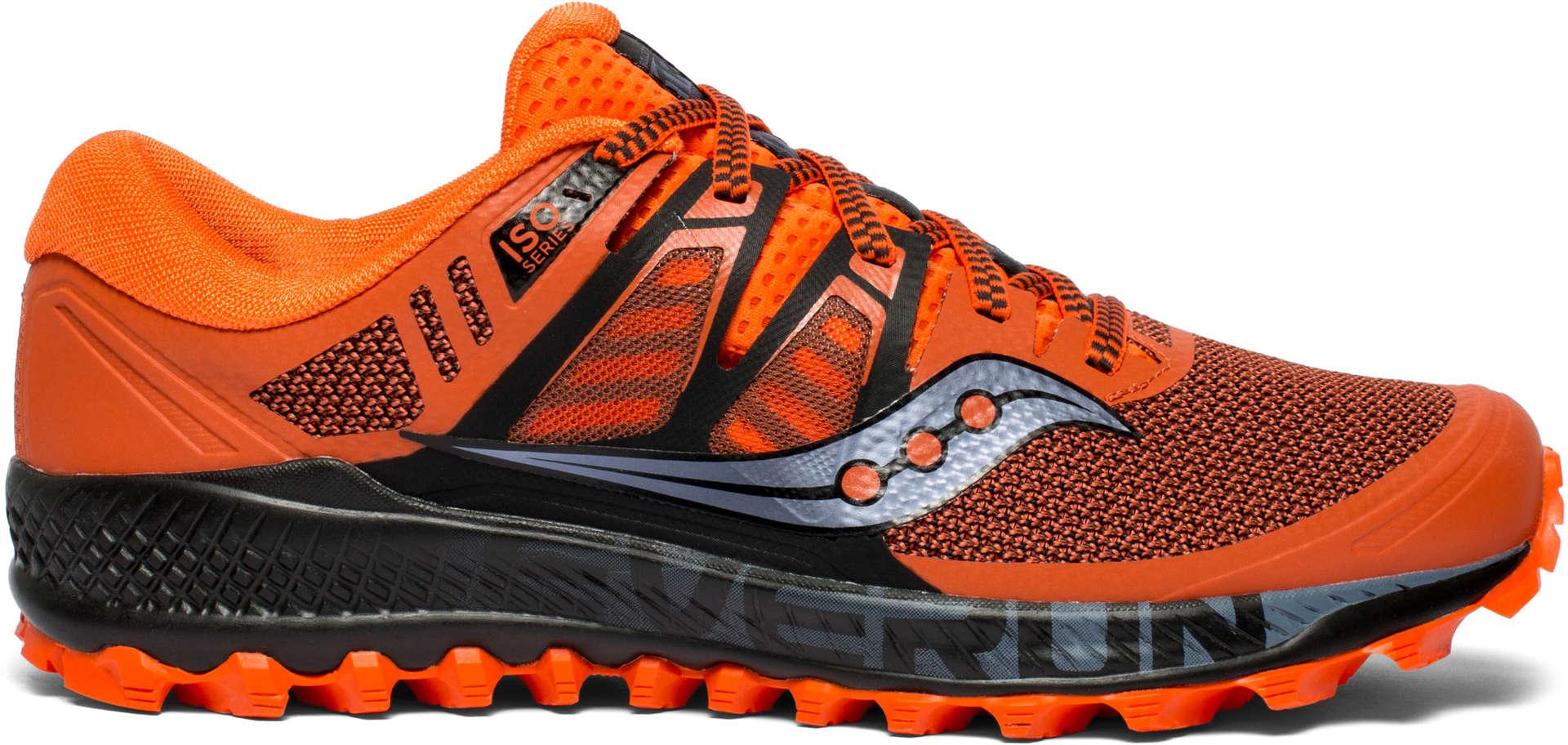 17395dfe375 Saucony Peregrine ISO Trail Hardloopschoenen Oranje/Zwart Heren koop ...