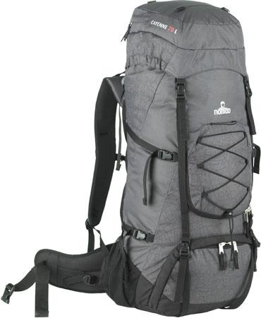 9eb92e36f50d42 Nomad Cayenne 70 Allround Backpack Dark Grey koop je bij Futurumshop.nl