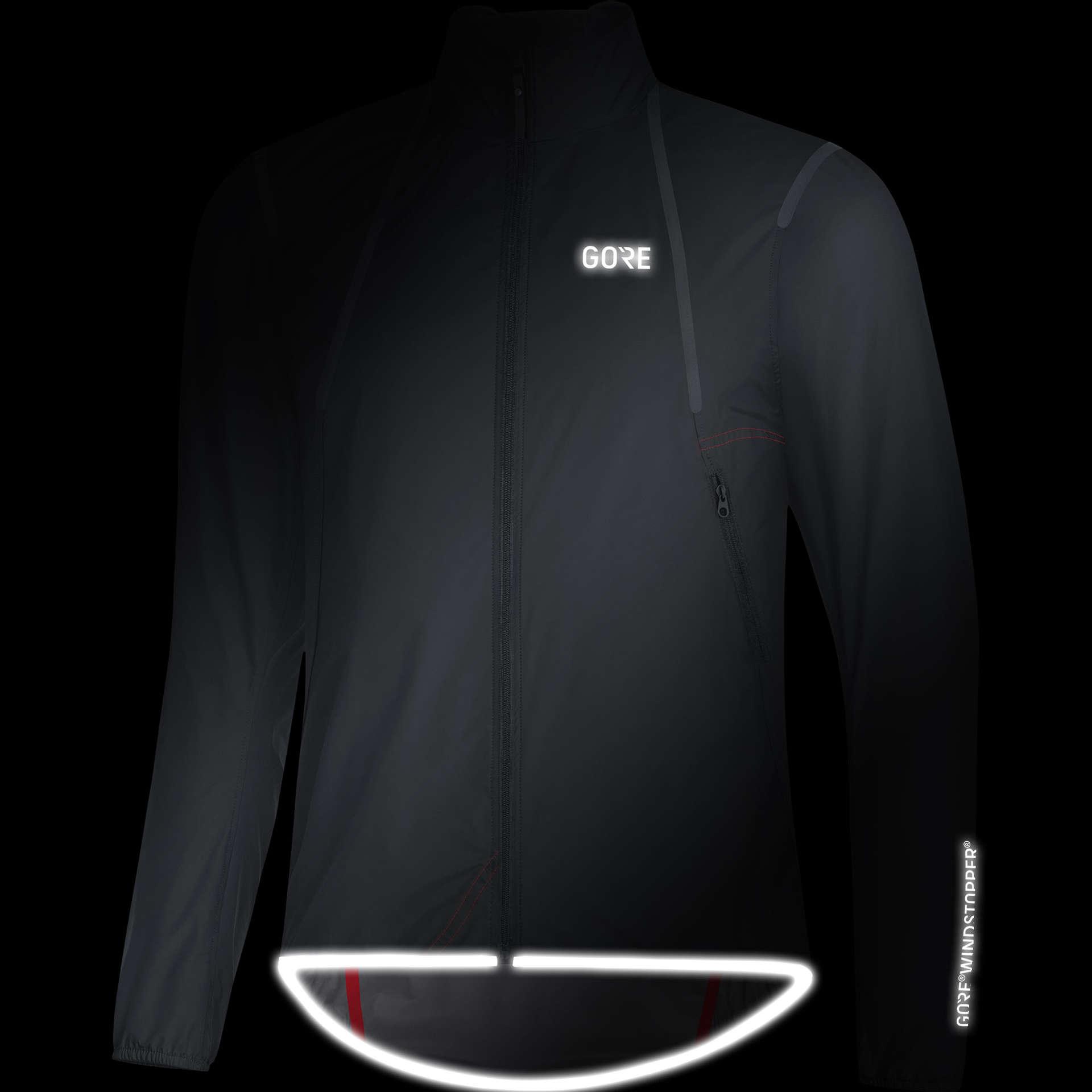 GORE Wear C7 GWS Light Fietsjack Zwart Heren