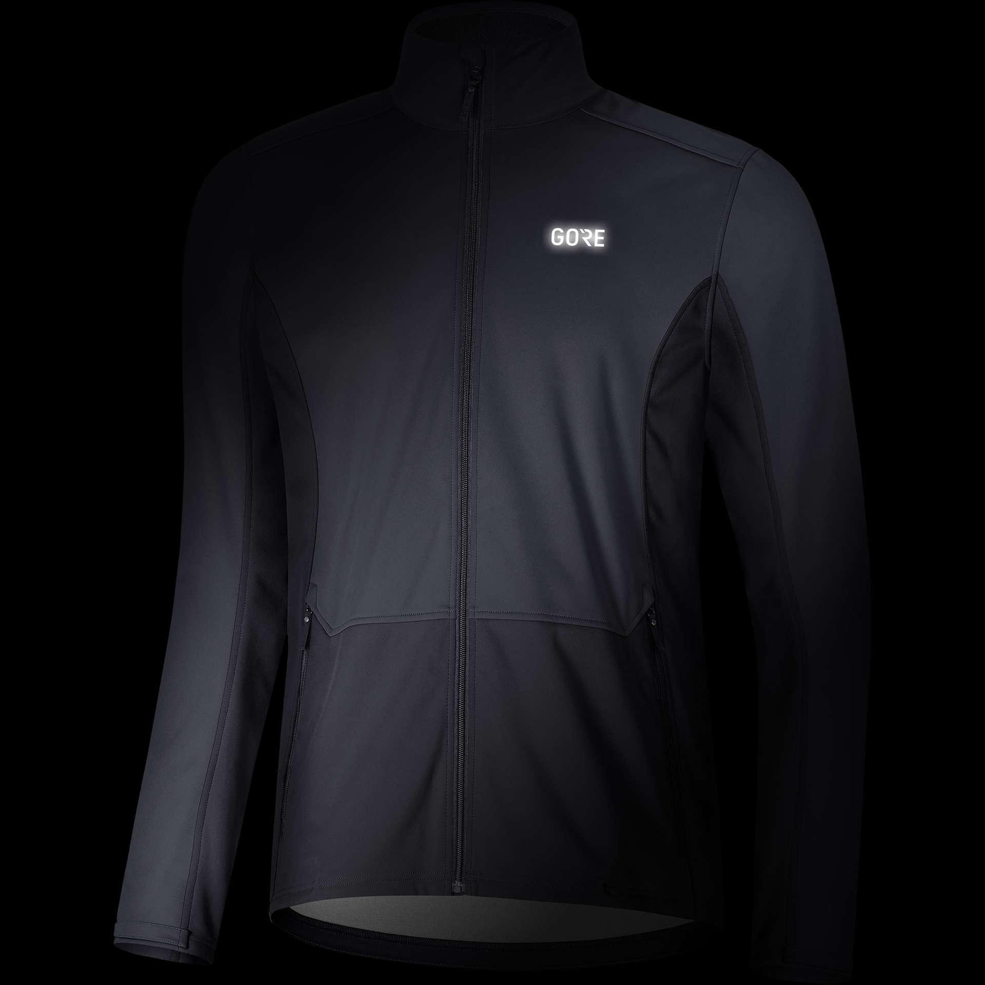 GORE Wear R3 GWS Classic Hardloopjack Grijs/Zwart Heren