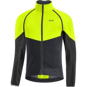 GORE Wear Phantom Fietsjack Neon Geel/Zwart Heren