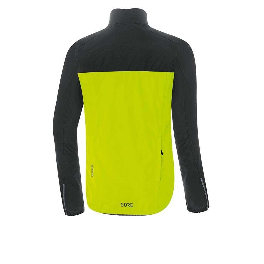 GORE Wear Spirit Fietsjack Neon Geel/Zwart Heren